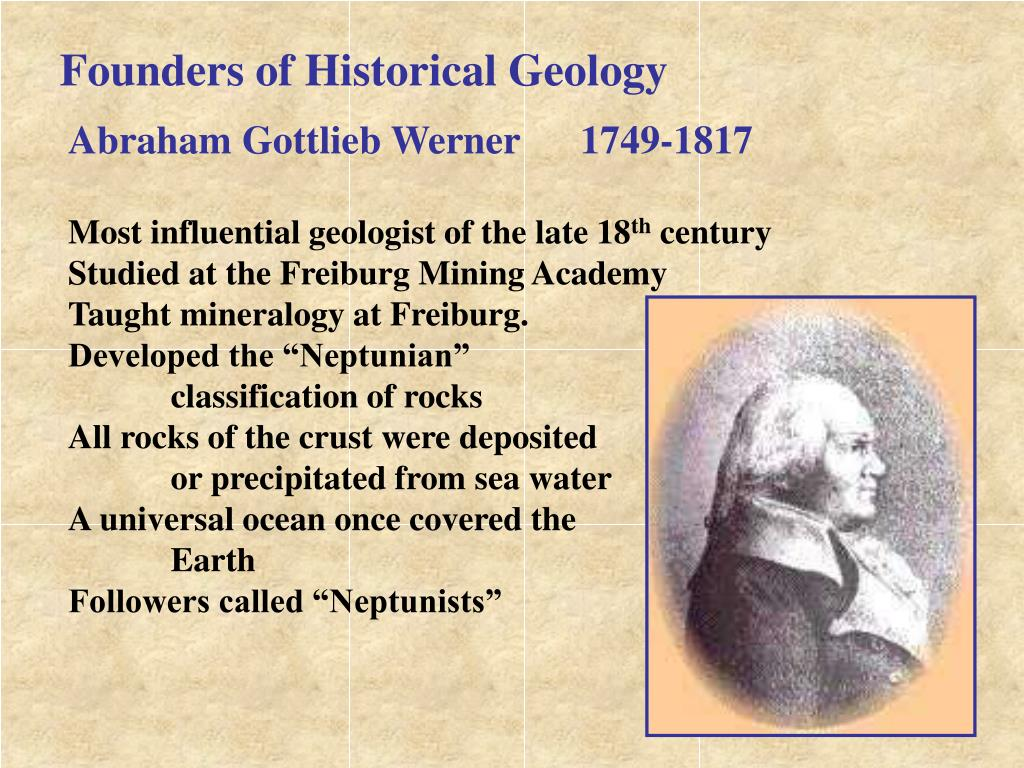 Founders of Historical Geology