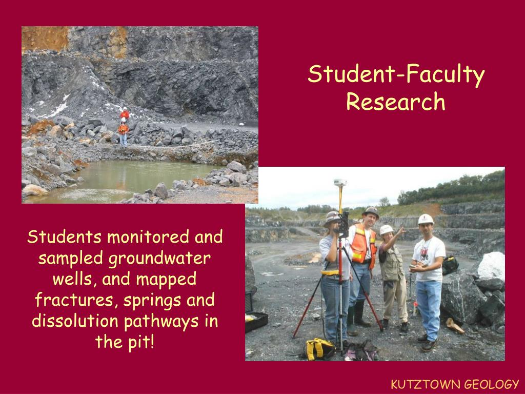 Student-Faculty Research