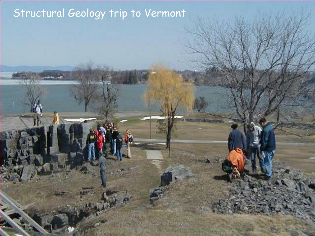 Structural Geology trip to Vermont