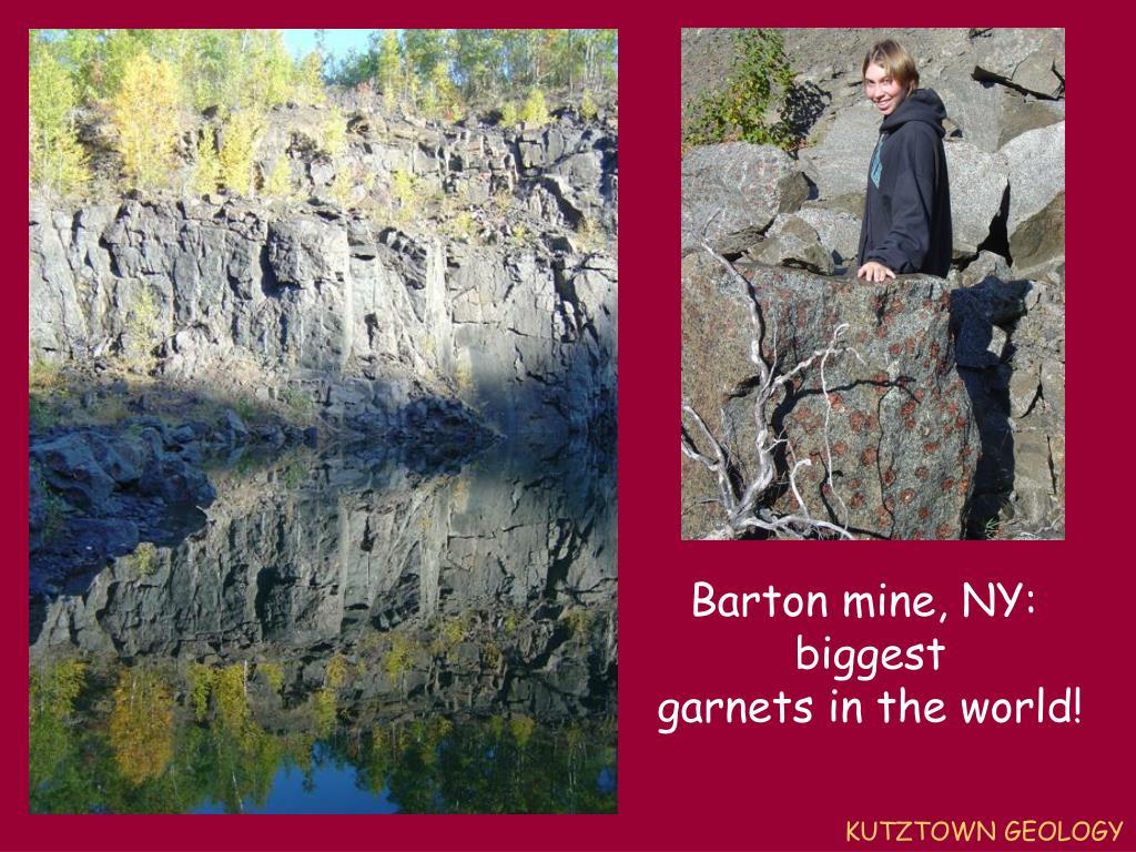 Barton mine, NY: