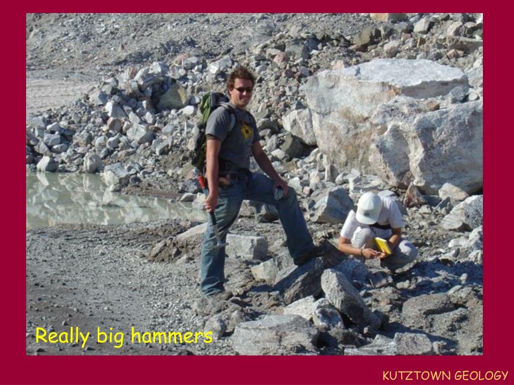 Really big hammers