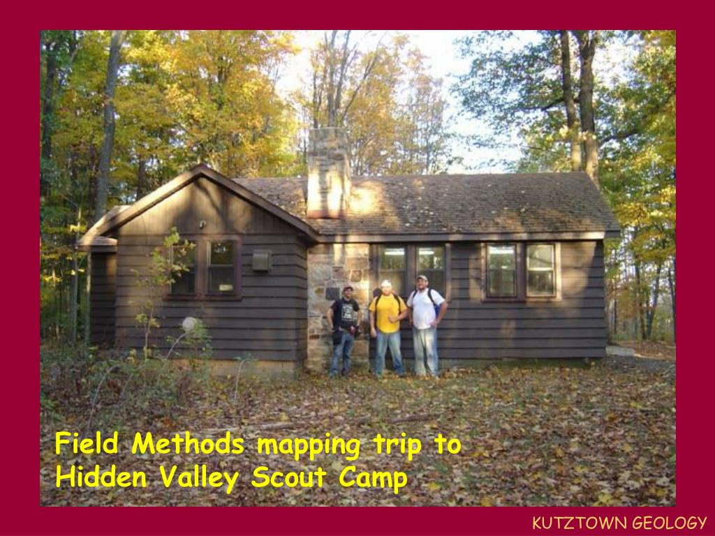 Field Methods mapping trip to