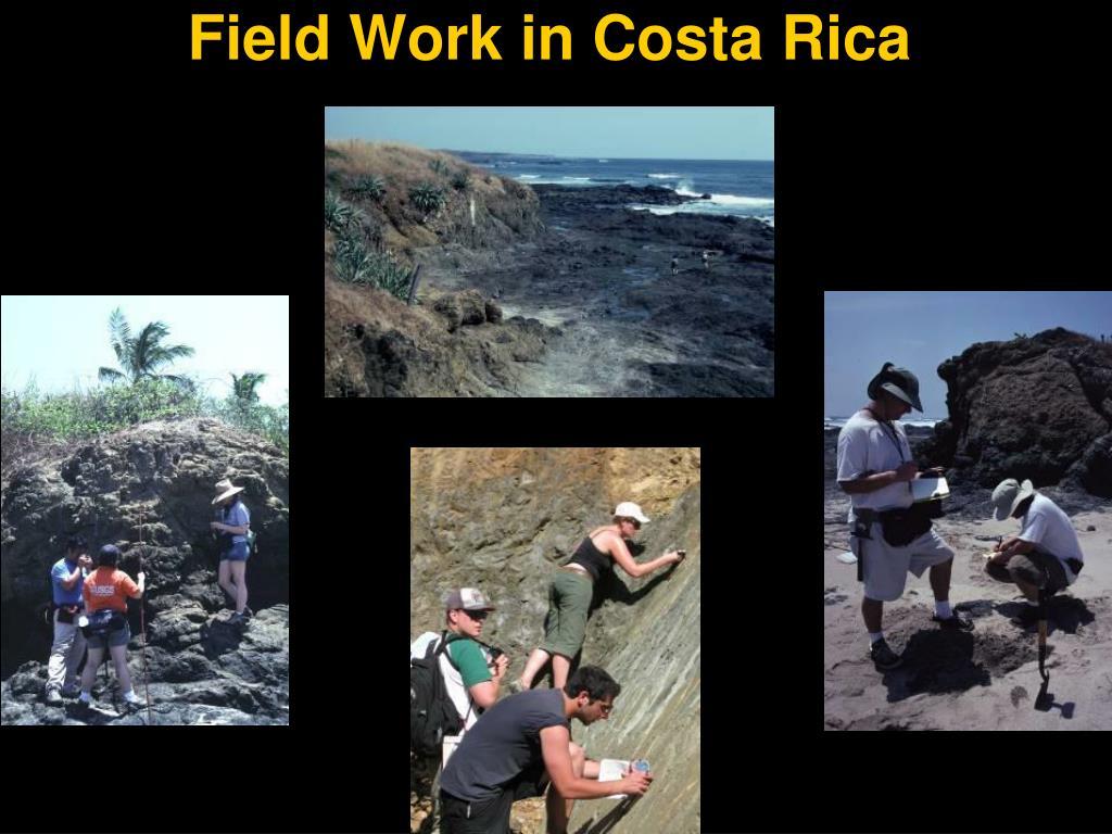Field Work in Costa Rica