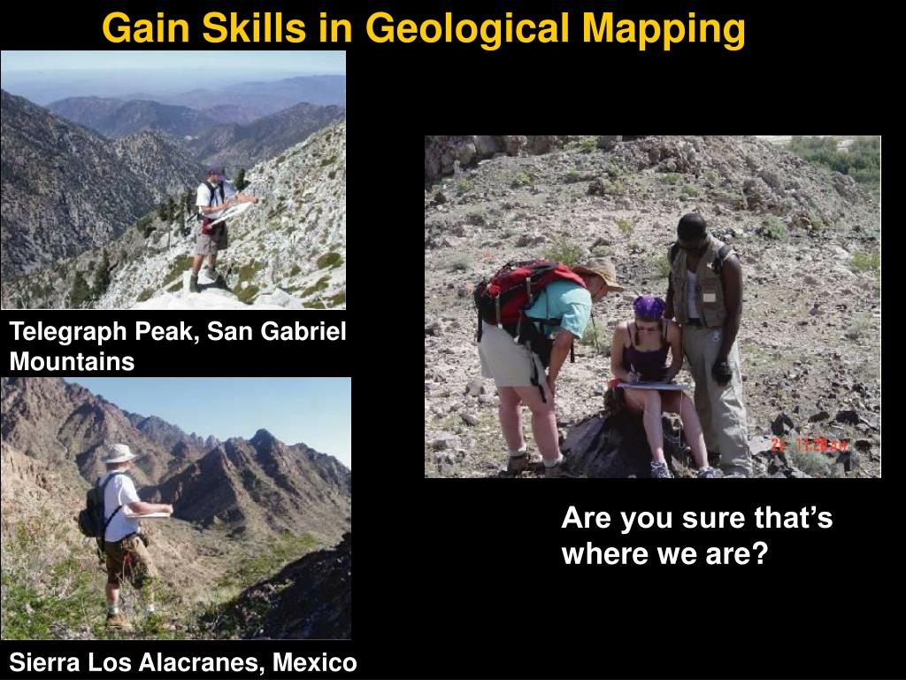 Gain Skills in Geological Mapping
