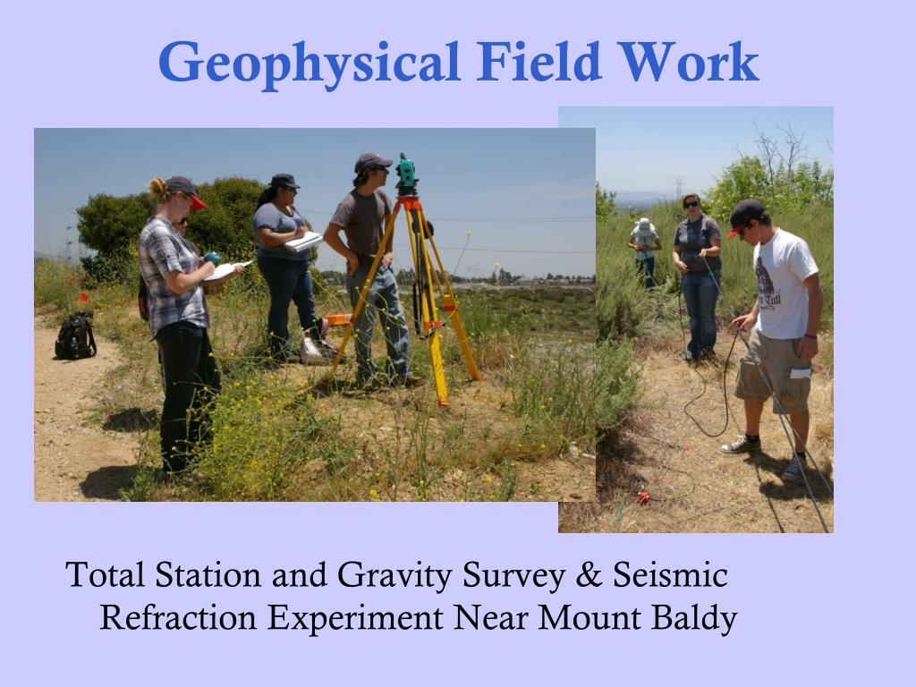 Geophysical Field Work