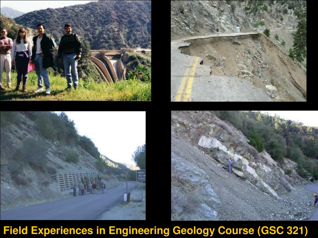 Field Experiences in Engineering Geology Course (GSC 321)