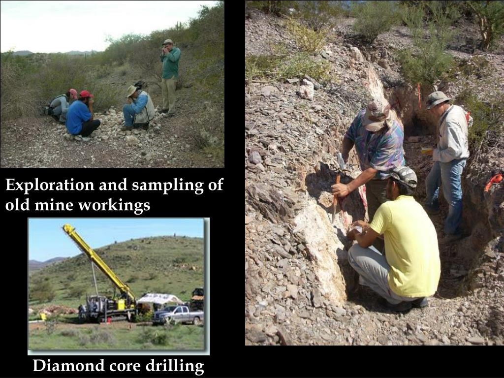 Exploration and sampling of old mine workings