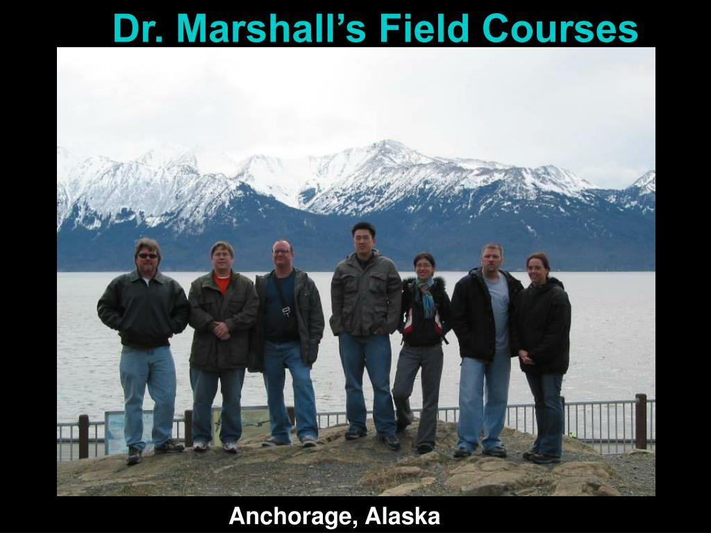 Dr. Marshall's Field Courses