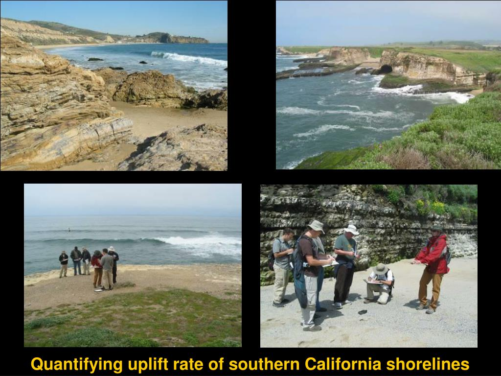 Quantifying uplift rate of southern California shorelines