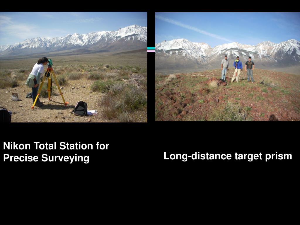 Nikon Total Station for Precise Surveying