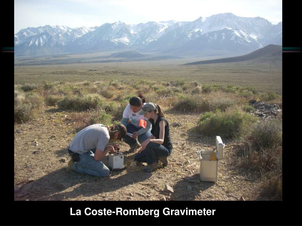 La Coste-Romberg Gravimeter