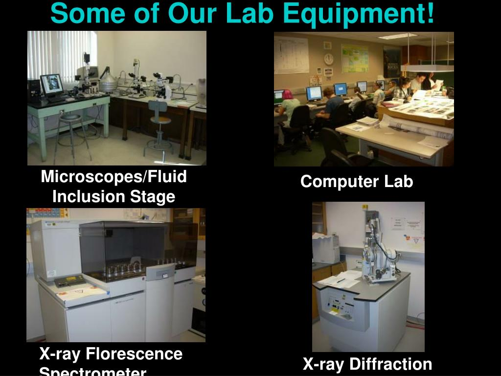 Some of Our Lab Equipment!