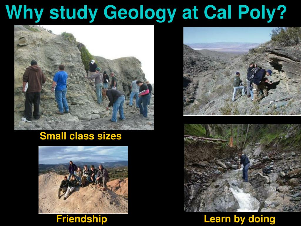 Why study Geology at Cal Poly?