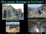 why study geology at cal poly