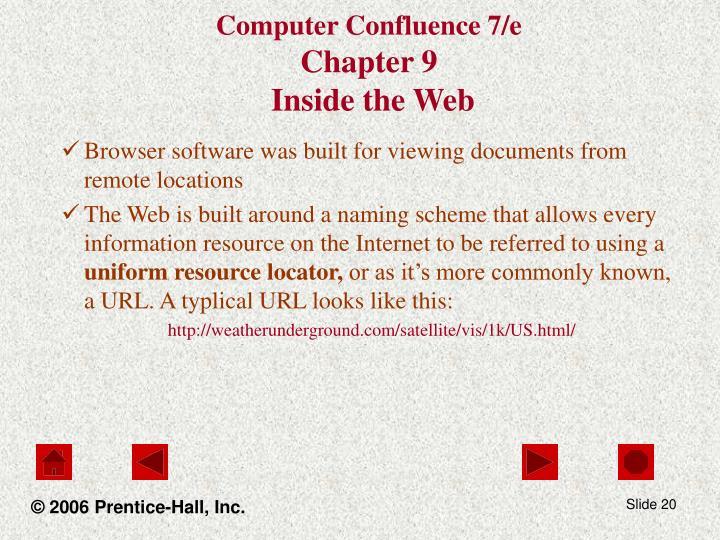 Computer Confluence 7/e