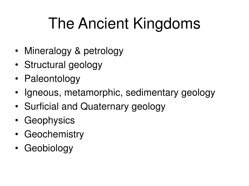 The Ancient Kingdoms