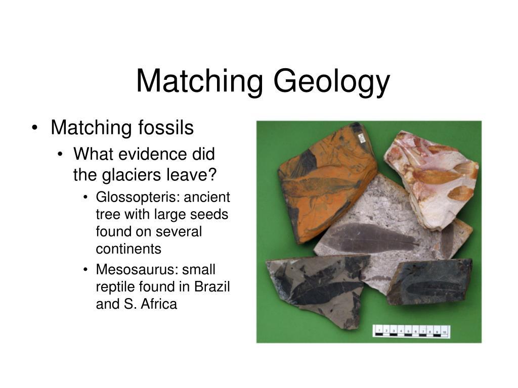 Matching Geology