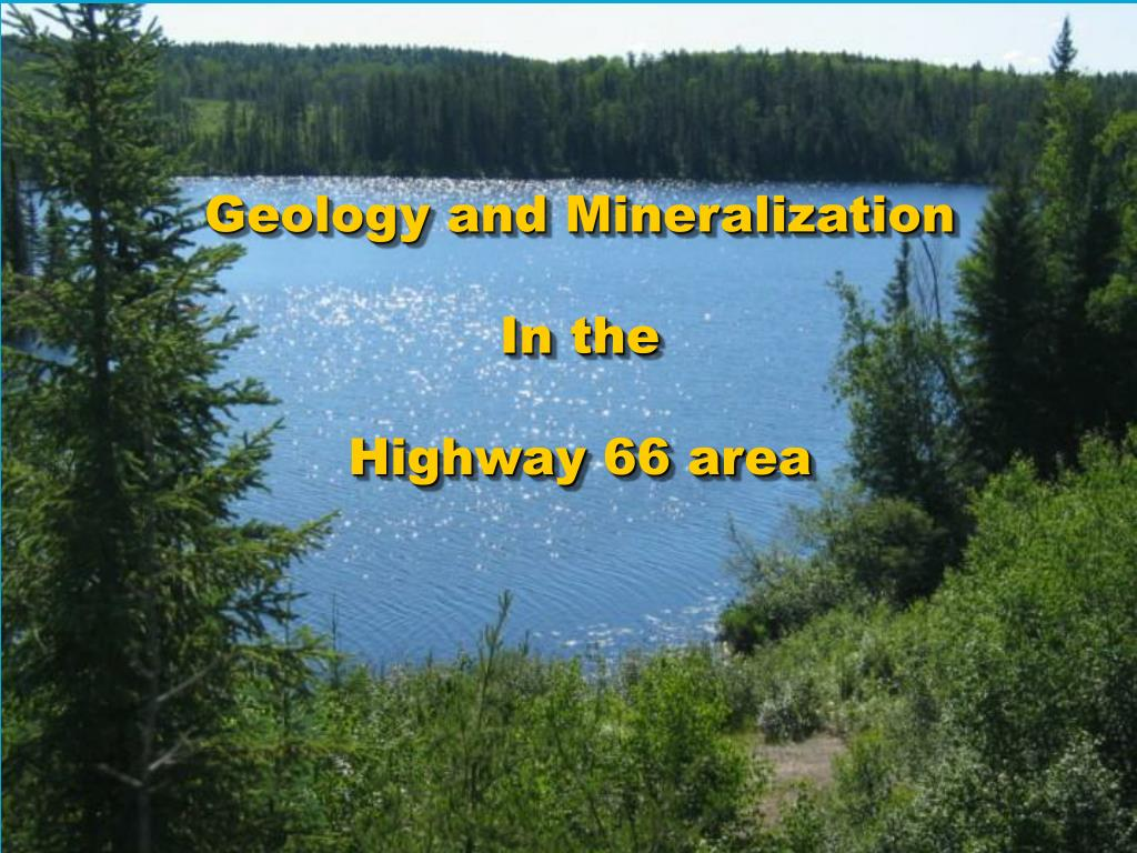 Geology and Mineralization
