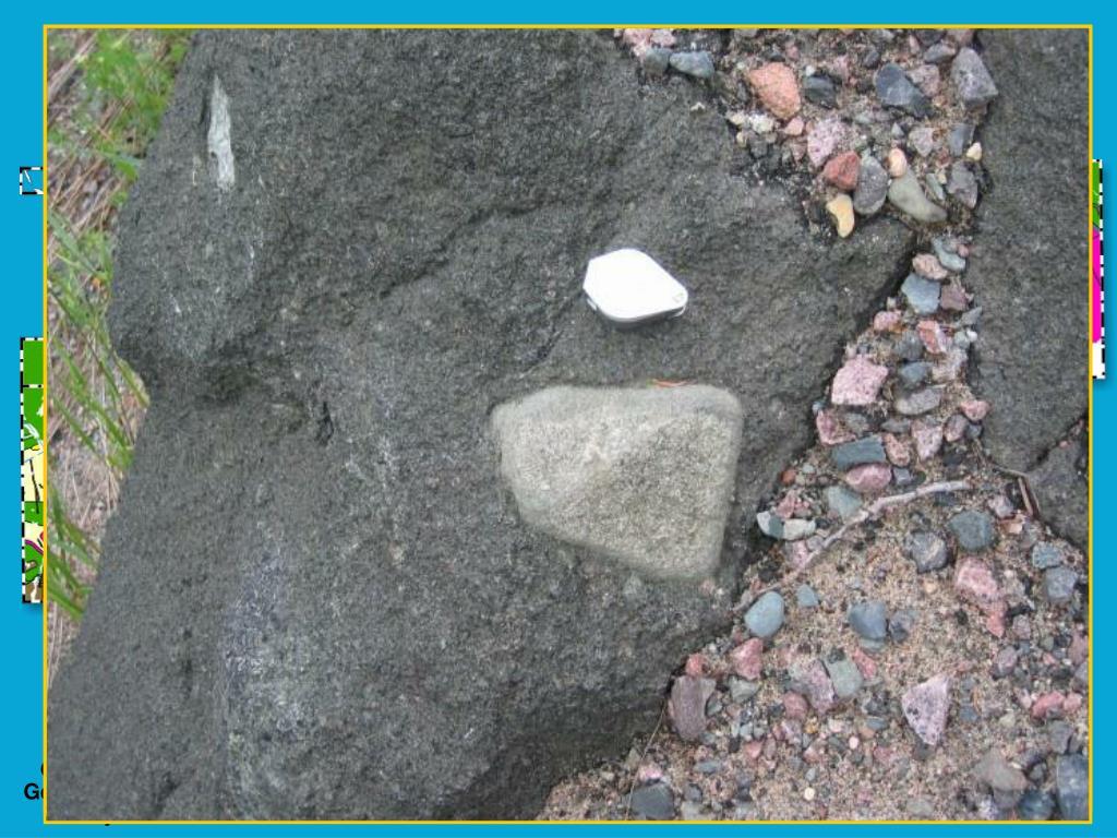 Mafic alkalic intrusive rocks