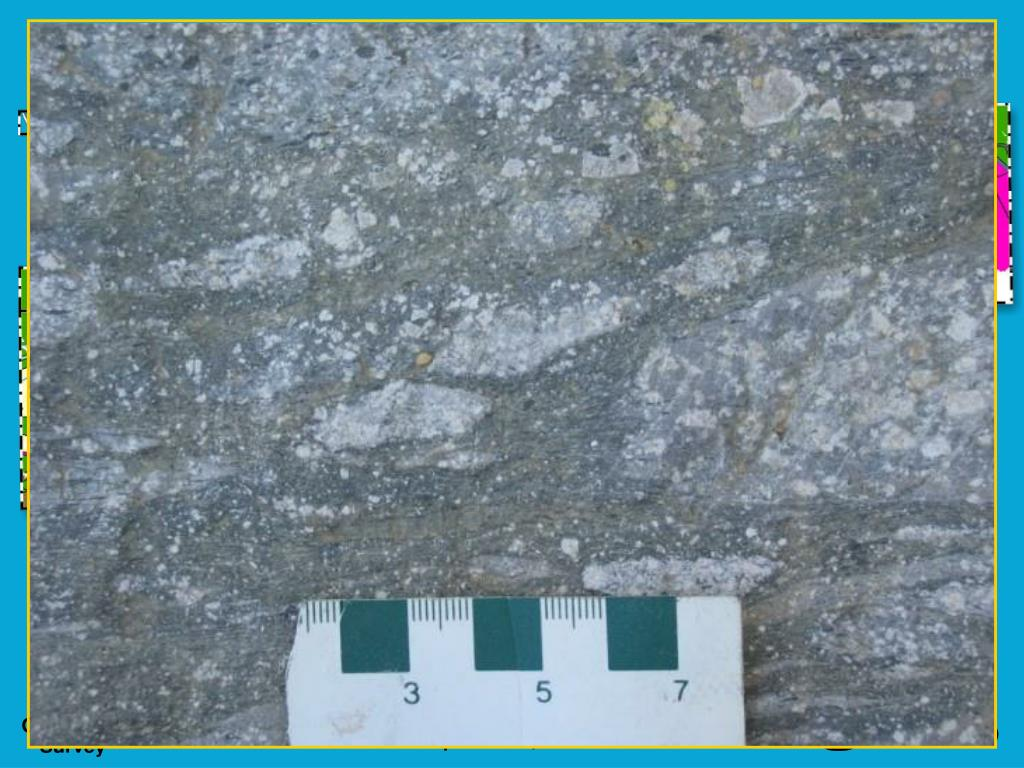Intermediate metavolcanic rocks