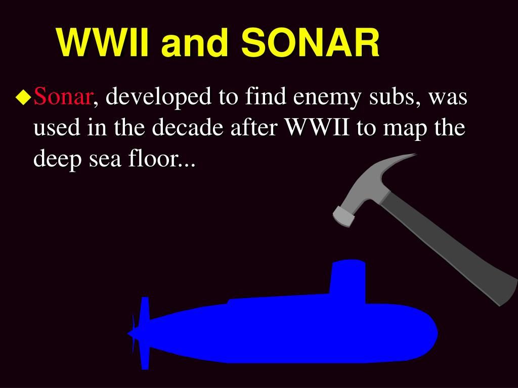 WWII and SONAR