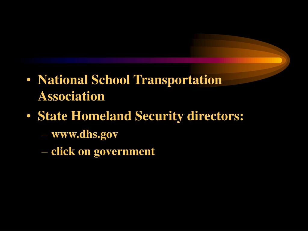 National School Transportation Association
