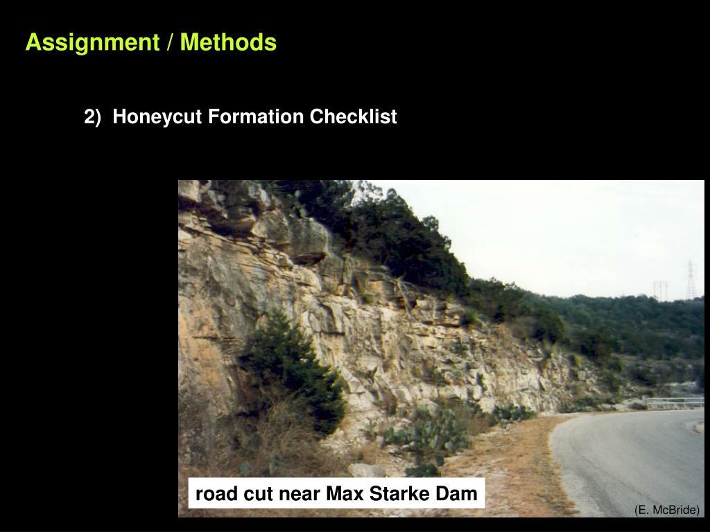 Assignment / Methods