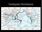earthquake distribution