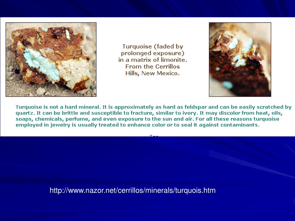 http://www.nazor.net/cerrillos/minerals/turquois.htm