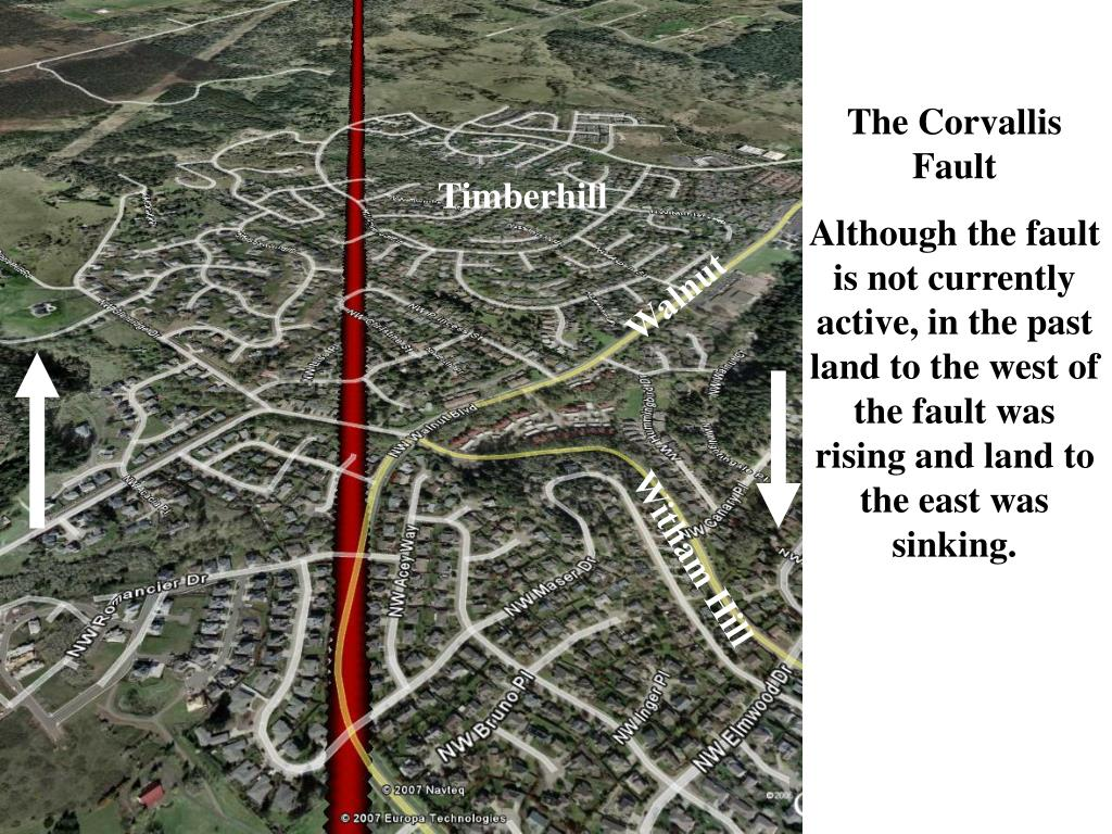The Corvallis Fault