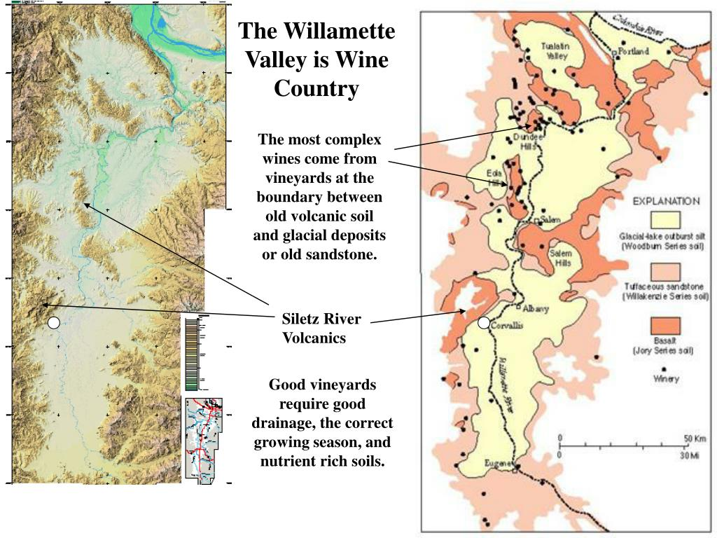 The Willamette Valley is Wine Country