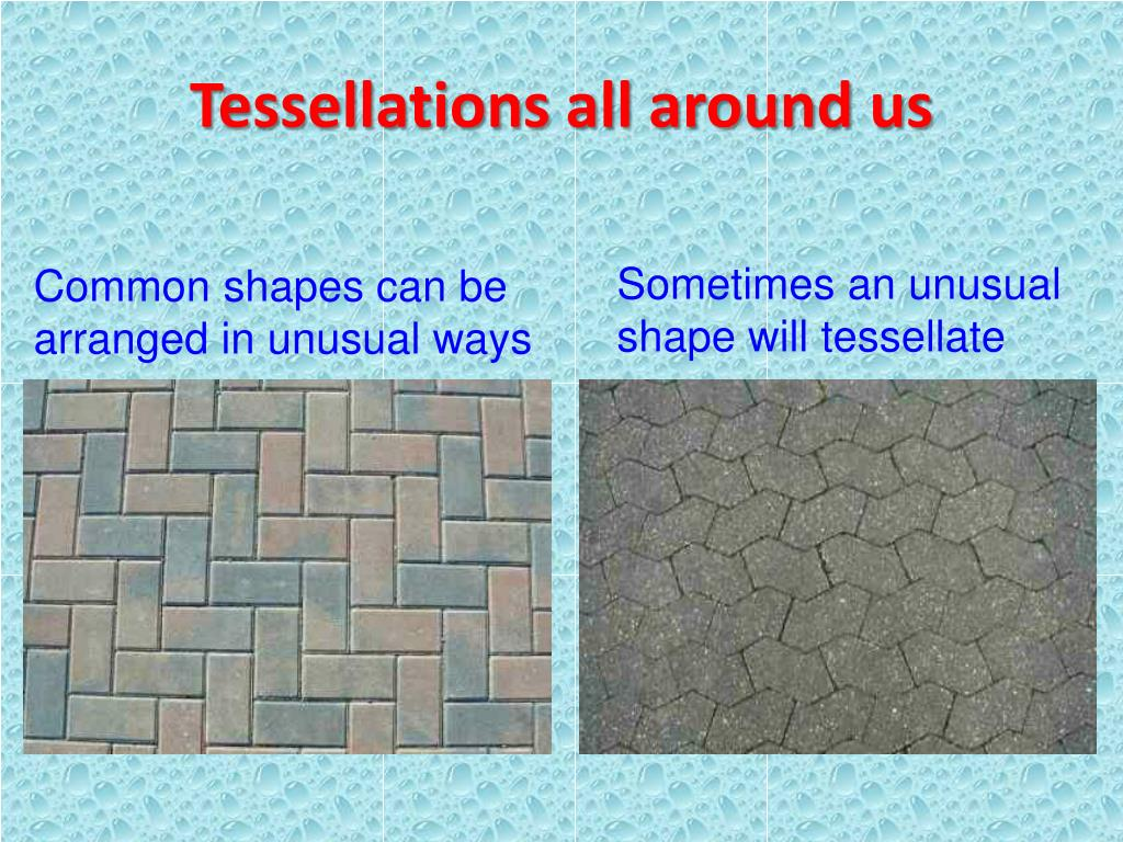 Tessellations all around us