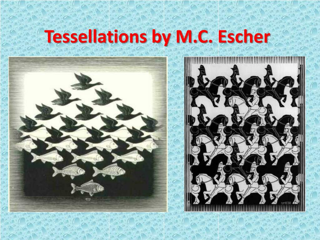 Tessellations by M.C. Escher