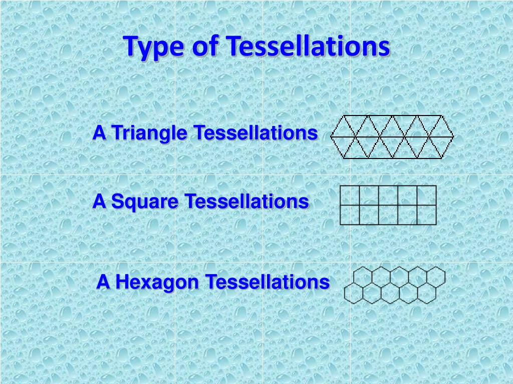 Type of Tessellations