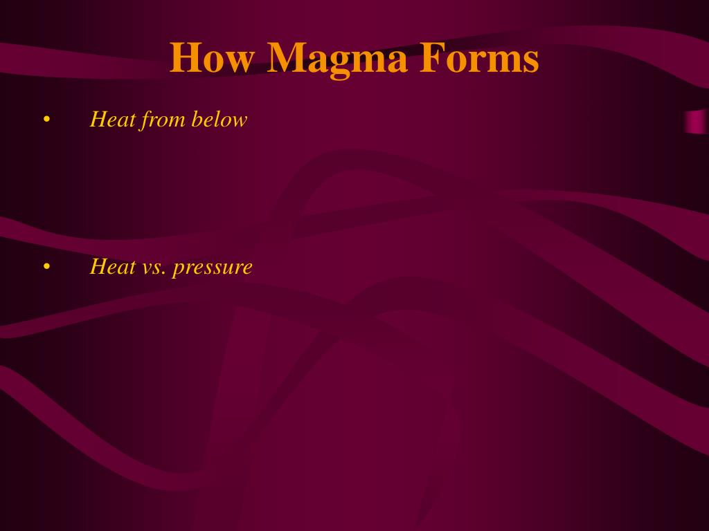 How Magma Forms