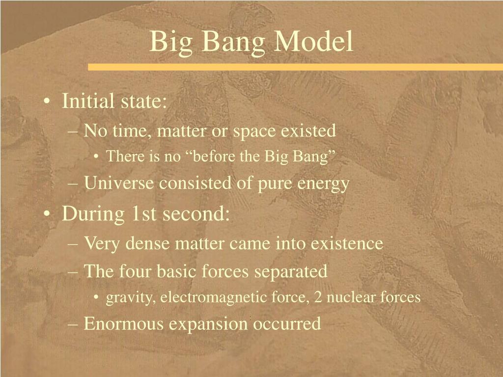 Big Bang Model