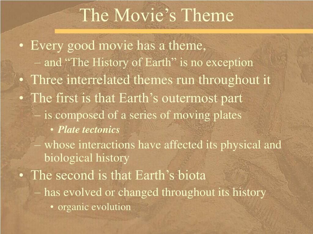 The Movie's Theme
