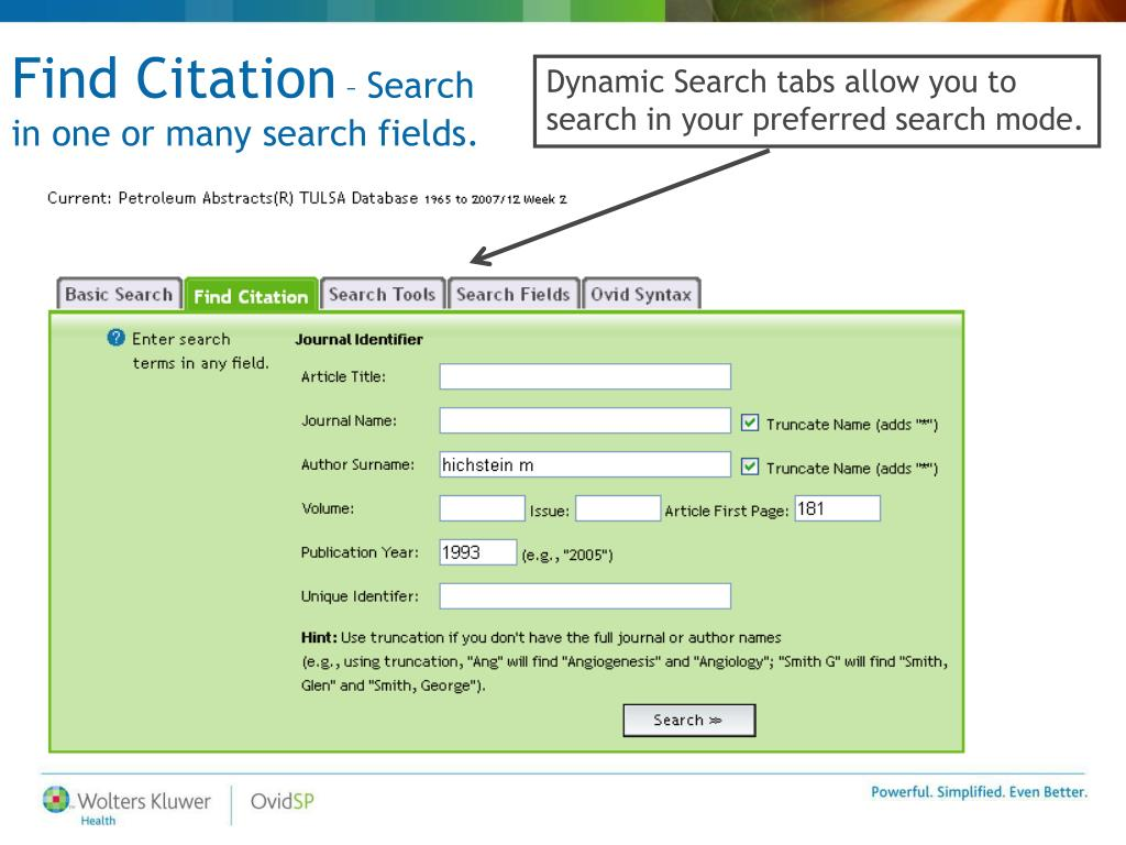 Find Citation