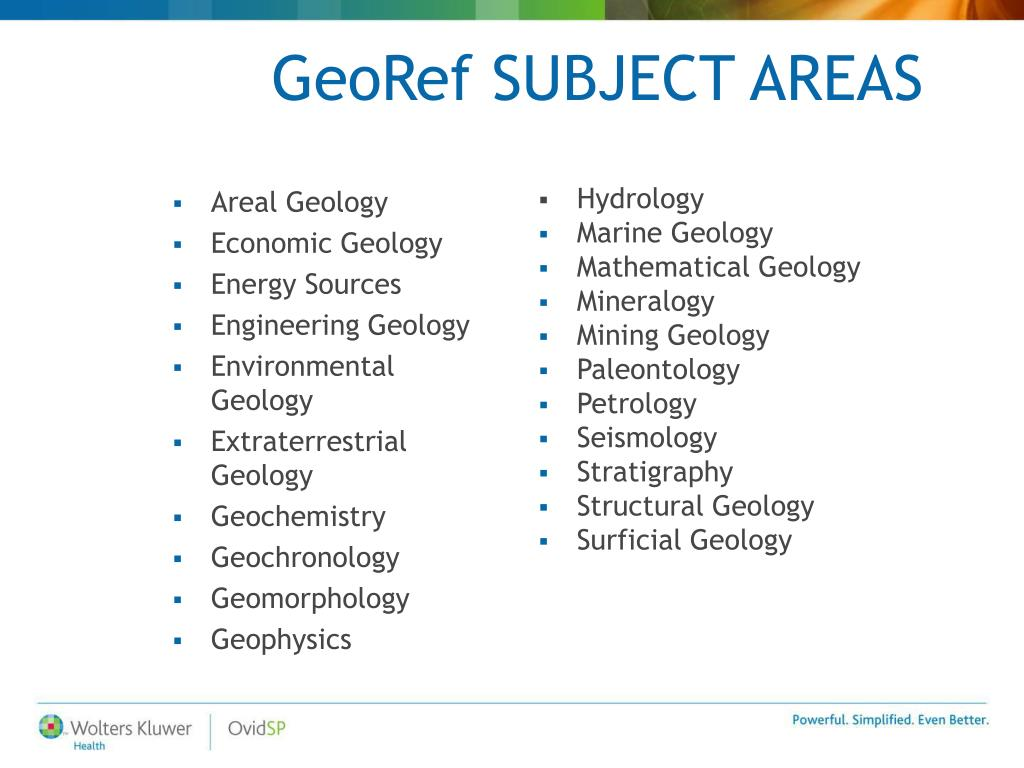 Areal Geology