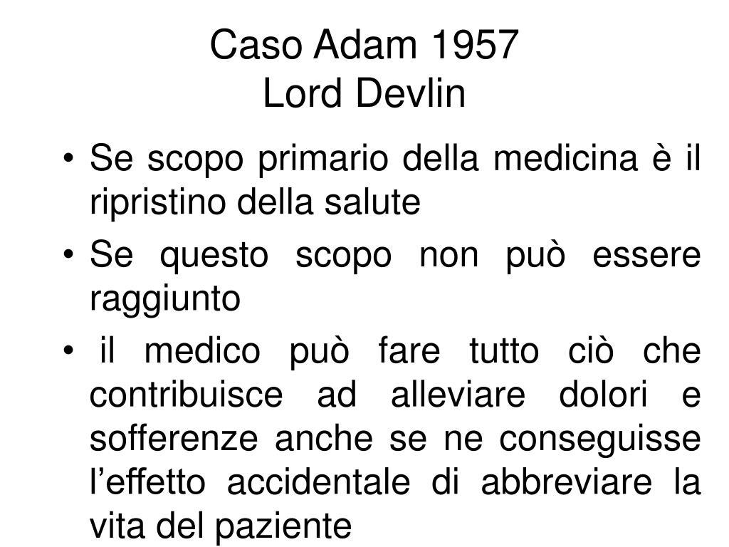 Caso Adam 1957