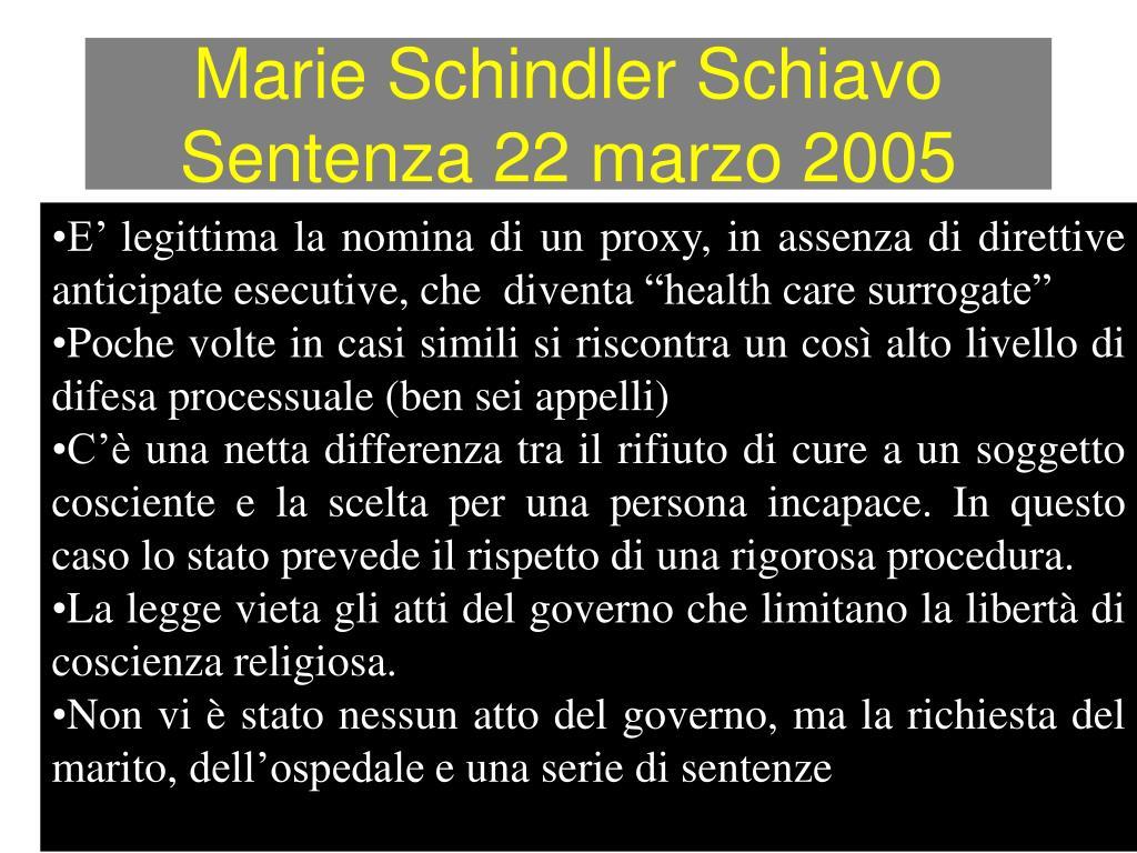 Marie Schindler Schiavo