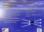 nat the broken ipv4 solution to scalability