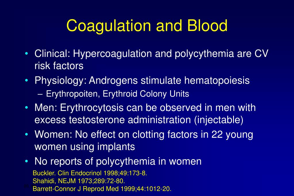 Coagulation and Blood