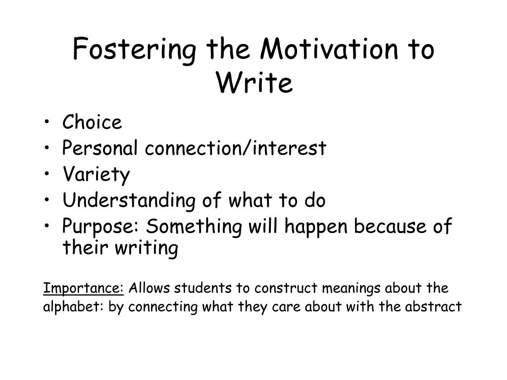 whats personal motivation essay The effectiveness of goal setting in motivation is a well-recognized fact, and by making goals specific, consistent, and appropriately challenging, you can set goals that are powerfully motivating as such, the smart (specific, measurable, attainable, relevant, time.