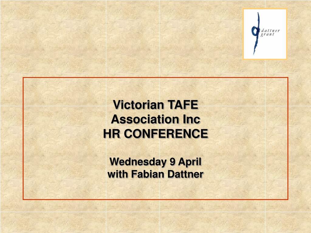 Victorian TAFE