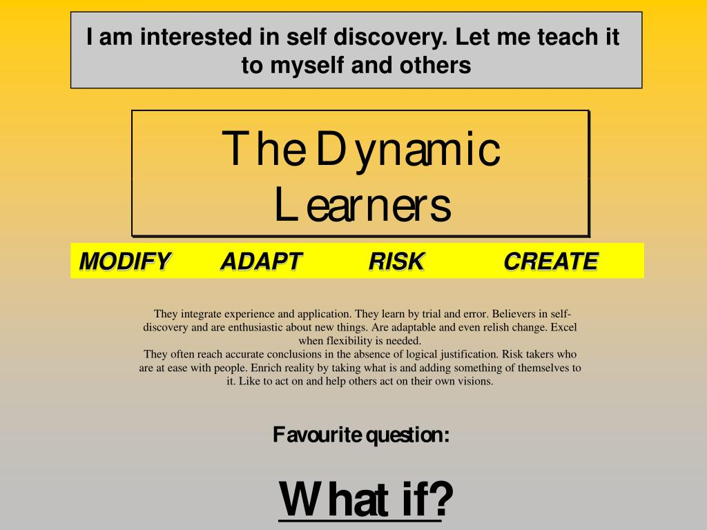 I am interested in self discovery. Let me teach it