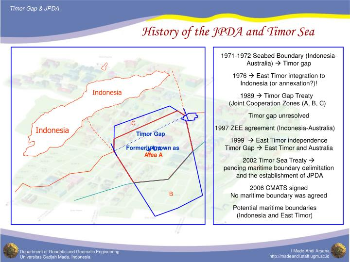 History of the jpda and timor sea l.jpg