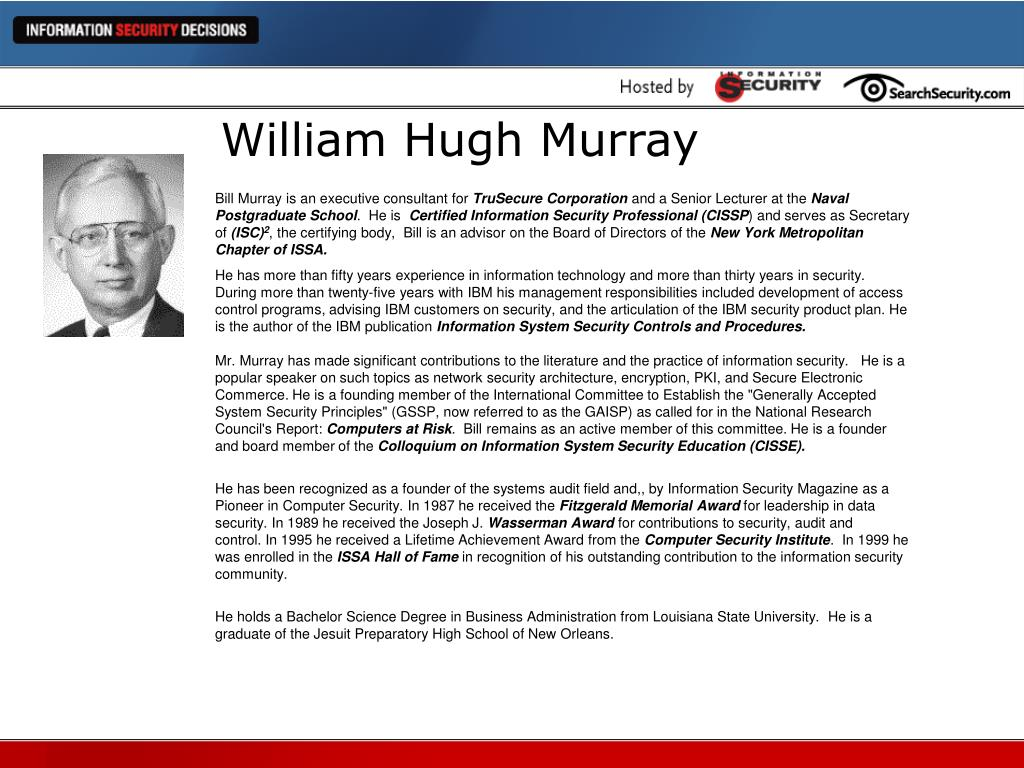 William Hugh Murray