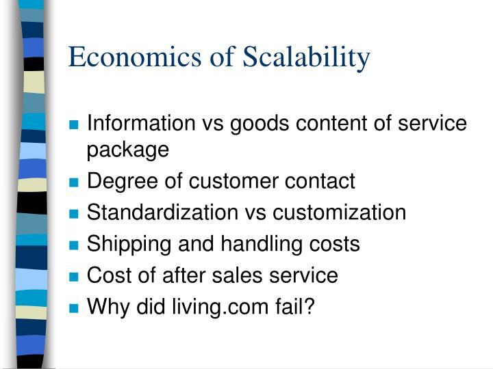 Economics of Scalability