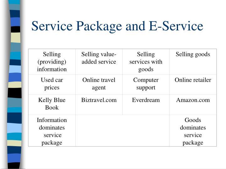 Selling (providing) information